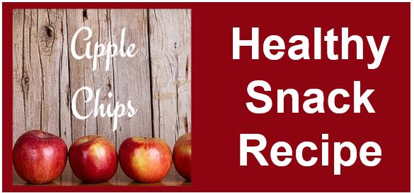 Healthy Snack Idea - Apple Crisp